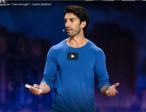 "Video: Lecture, Why I'm done trying to be ""man enough"" – Justin Baldoni"